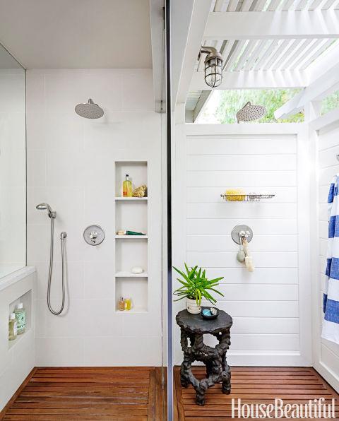 Indoor Outdoor Shower indoor outdoor bathroom