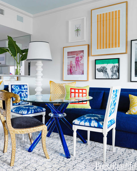 Rich Blue And Pink Interior Decorating Paint Colors And Modern Color Trends: 2015 Paint Colors