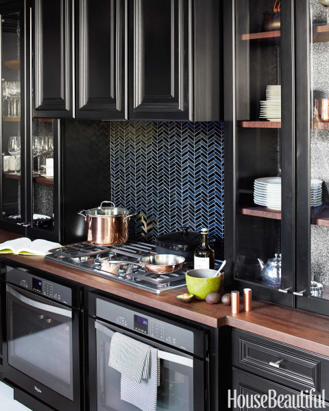 Black And Silver Kitchen Appliances: Kitchen Of The Year Steven Miller