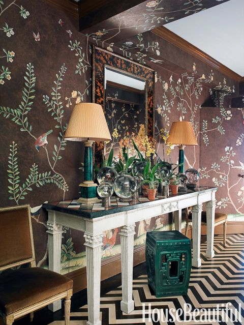 Foyer Wallpaper : New spring decorating ideas how to decorate for