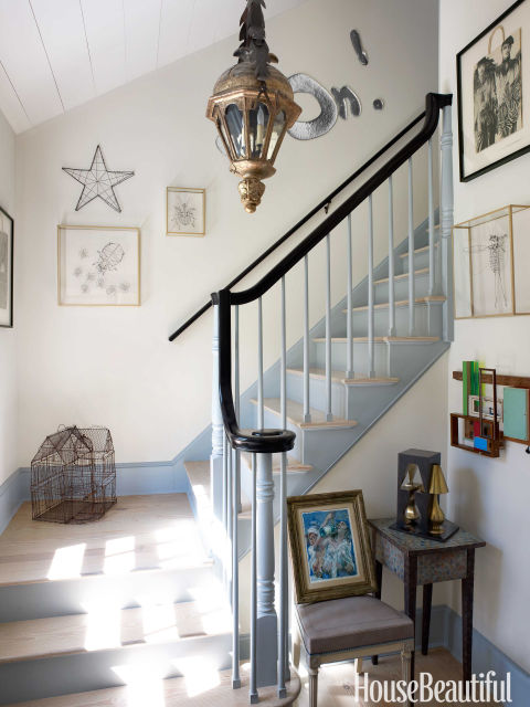 greek revival farmhouse interiors - new york country house