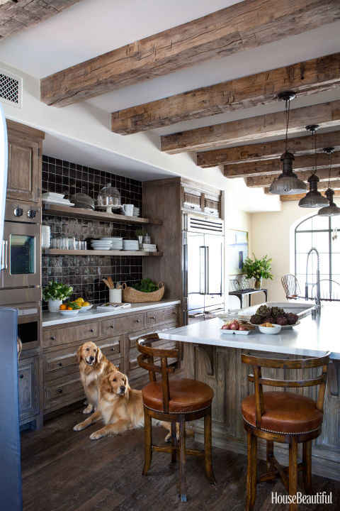 Wood kitchen ideas chris barrett design - Attractive kitchen cabinet door ideas to affect the rooms appearance ...
