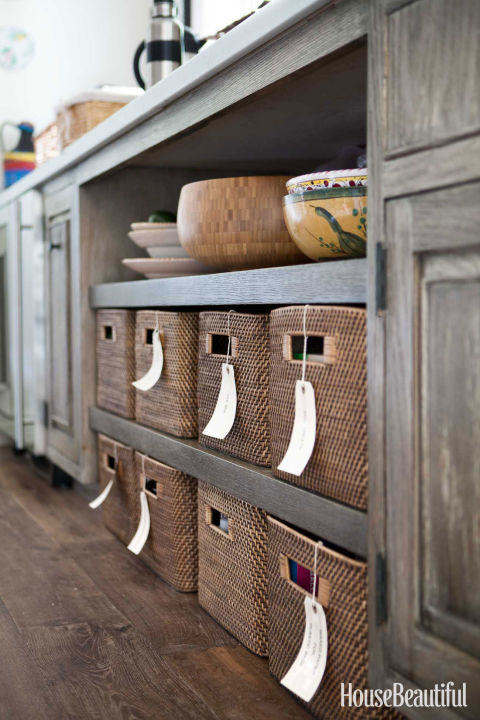 fill up handy bins - Kitchen Storage Idea