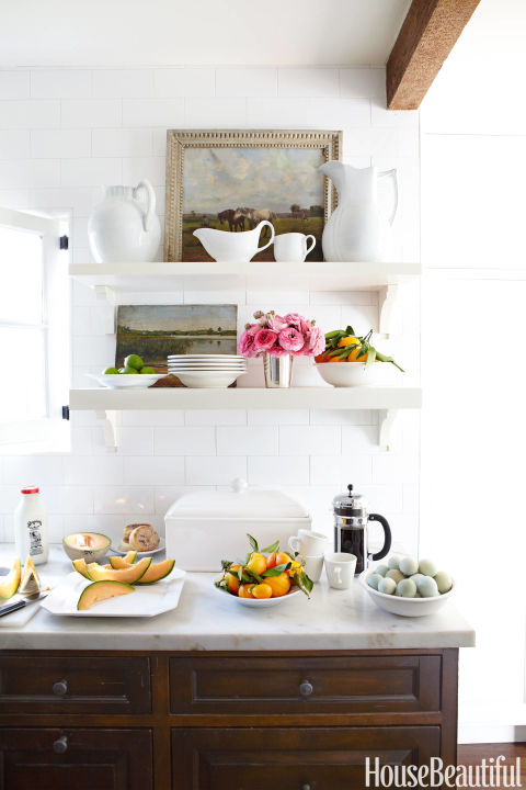 Small space decorating tricks best small space tips - How to get more counter space in a small kitchen set ...