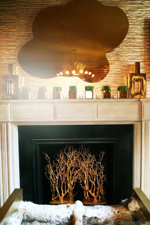 Fireplace log alternatives fireplace decor trends for Alternative fireplaces