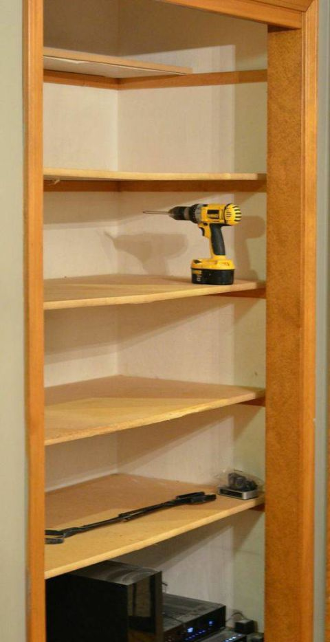 Pantry Makeover Cabinet Renovation