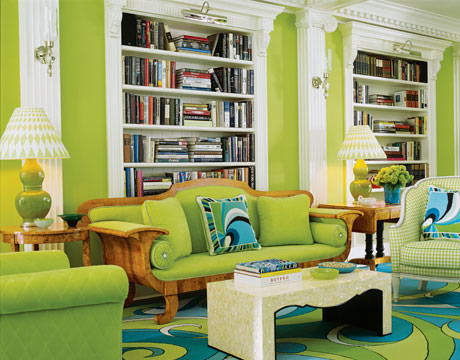 Colorful Rooms colorful rooms - green apartment