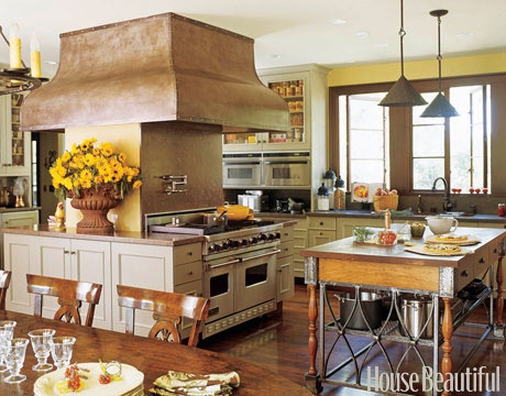 california - kentfield - old world style - kitchens