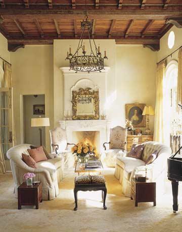 Romantic House European Style Austin Fern Santini
