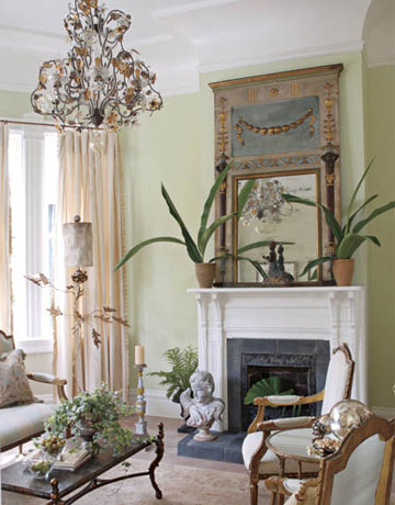 Living Room Sets New Orleans french style - karyl pierce paxton - new orleans cottage