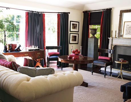 Timeless style makeover mary mcdonald hollywood hills for Living room 0325 hollywood