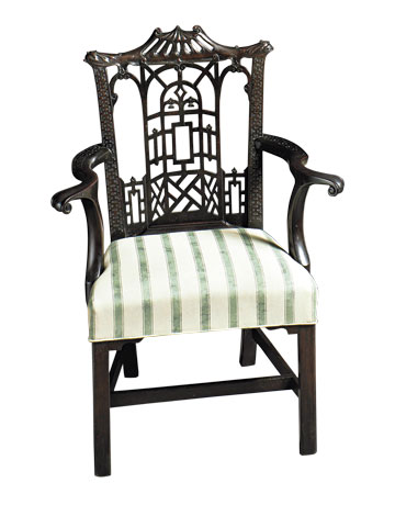 chinese chippendale chairs - design trends - collecting