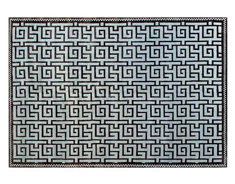 Greek Key Motif Pattern Furniture