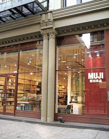 Muji Stores New York