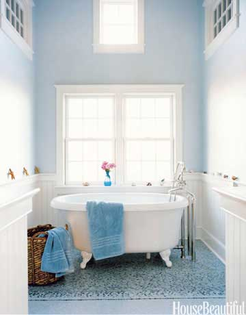 Bright bathroom color ideas spring paint color ideas for - Bathroom items that start with g ...