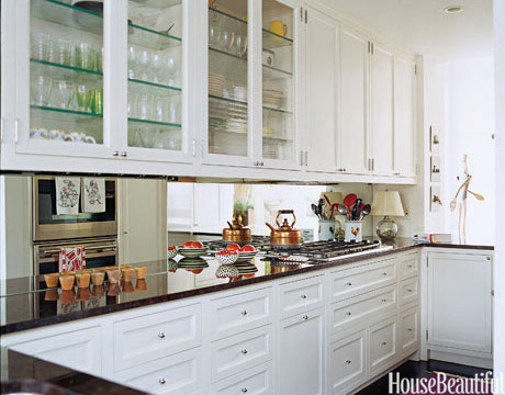 House Beautiful  Impossibly Chic Kitchen Backsplashes