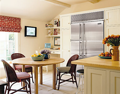 How to choose a color for kitchen walls for Cream kitchen paint ideas