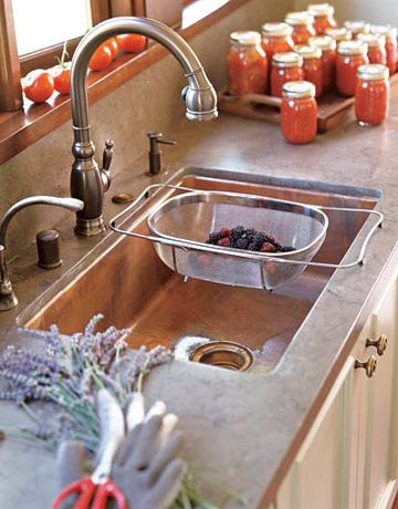 kitchen and bathroom sinks - styles of sinks