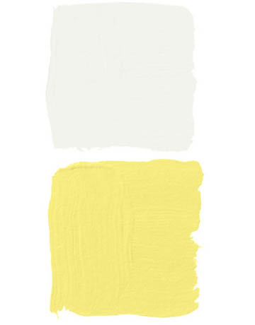 Top White And Yellow Paint Swatches