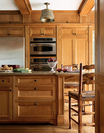 Traditional Kitchen Wood Kitchen Cabinets Greenwich Ct