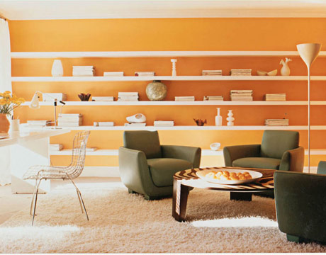 Tangerine Paint Color outrageous paint colors - bold colors