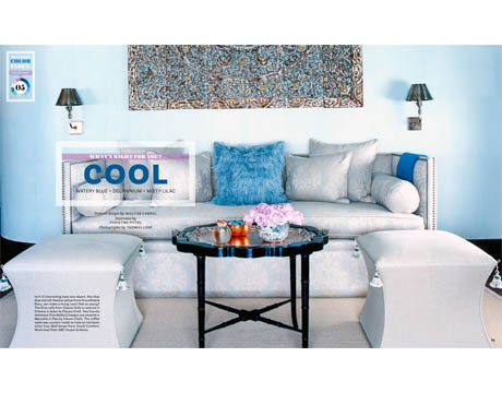 living room layout in magazine - Cool Colors For Living Room