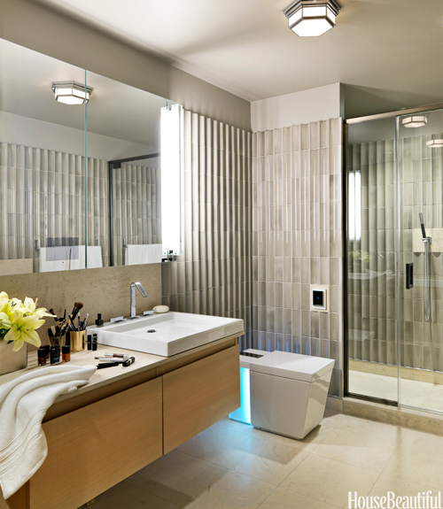 House Beautiful Master Bathrooms 45 Bathroom Tile Design Ideas Backsplash And Floor Designs For E On Decorating