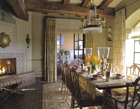 cathy kincaid designs a french country house in arizona. Black Bedroom Furniture Sets. Home Design Ideas