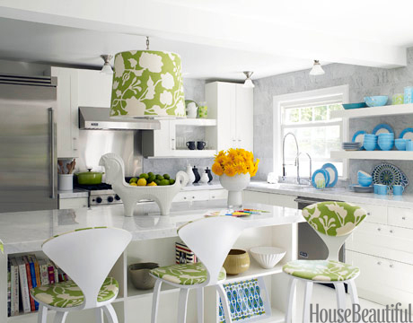 How To Decorate Your Kitchen spring colors - decorating your kitchen for spring