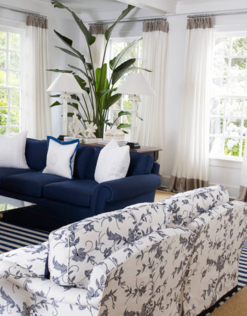 David Lawrence Designs A Blue And White Home