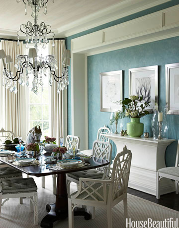 Blue Dining Room Colors 25 best dining room paint colors - modern color schemes for dining