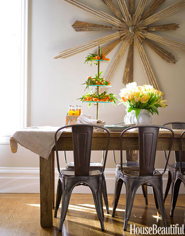 43 dining room decorating ideas and pictures for Small dining area decor