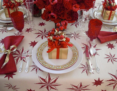 Christmas Table Settings 35 christmas table decorations & place settings - holiday tablescapes