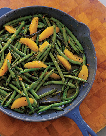 how to cook green beens in skillet