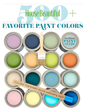 500 favorite paint colors bookazine - designers' favorite paint colors