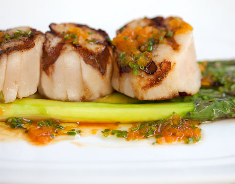 how to cook sea scallops on the grill
