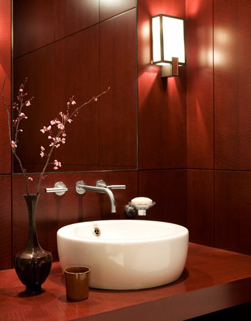 powder room decorating ideas - powder room design and pictures