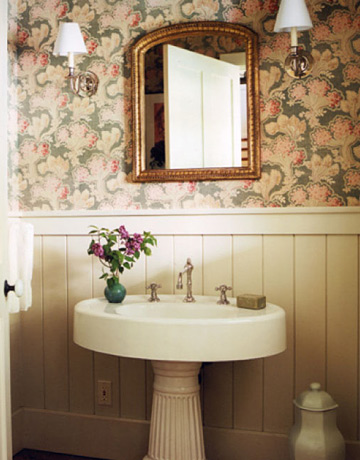 Powder Room Pictures powder room decorating ideas - powder room design and pictures