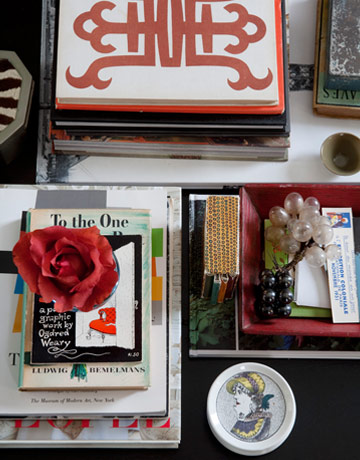 coffee table books - Eclectic Decor