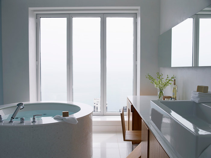 His and hers bath modern bathroom design photos for His hers bathroom decor
