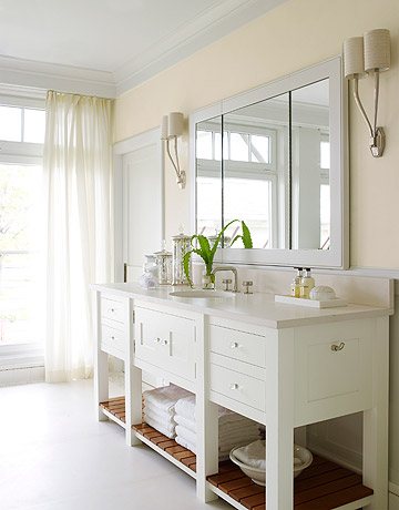 white bathrooms - ideas for white bathroom decor