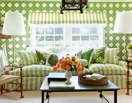 Living room makeover pictures living room before and after - Green living room ideas in east hampton new york ...