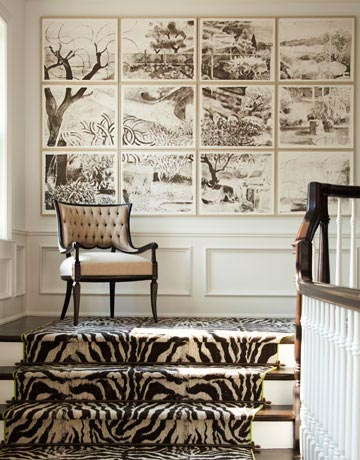 Traditional decorating ideas classic decorating ideas for Leopard print wall to wall carpet