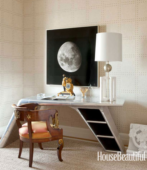 60 best home office decorating ideas design photos of home offices house beautiful - Home Office Desk Design