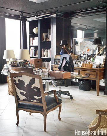 60 best home office decorating ideas design photos of home offices house beautiful. beautiful ideas. Home Design Ideas