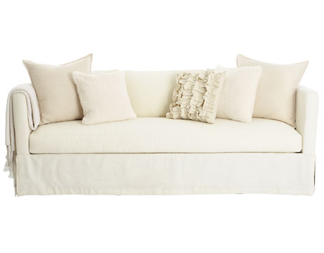 cream and white colored pillows on white sofa - Decorative Pillows For Sofa