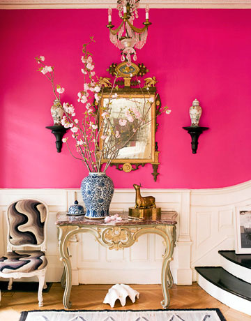 How To Decorating With Pink Room Ideas For