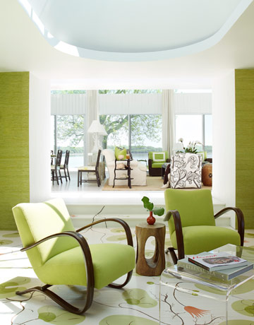 Green Decorating IdeasGreen Room Design Photos