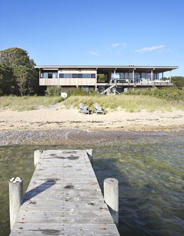 Modern beach house images
