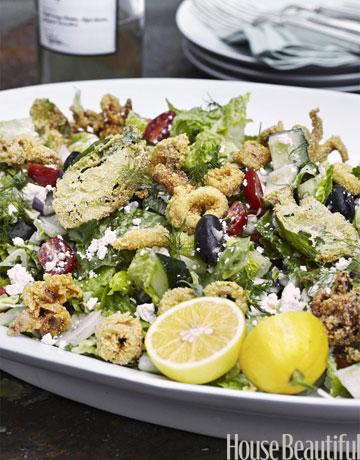 Tyler Florence Calamari Salad Recipe Summer Recipe For